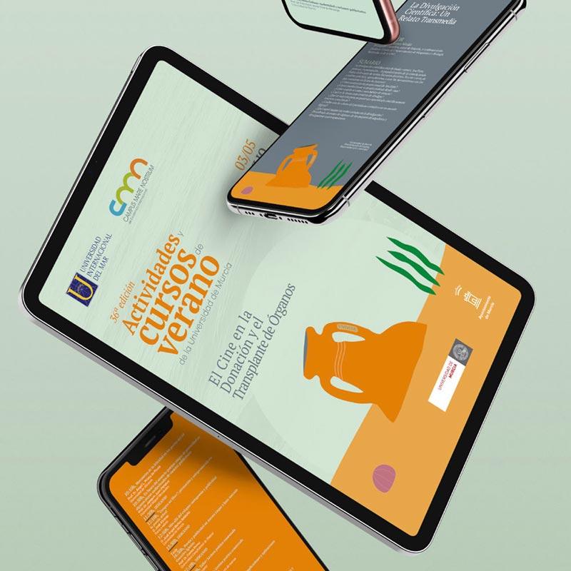 tablet unimar con cursos de verano
