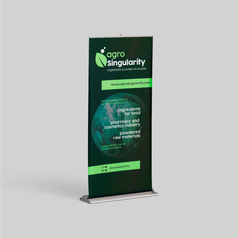 roll up completo agrosingularity negro y verde