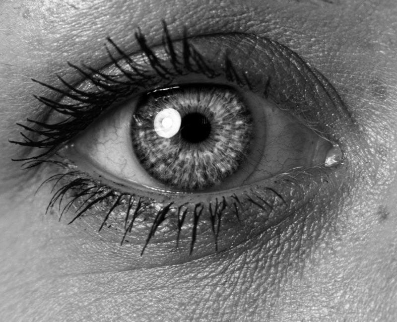 foto modelo ojo