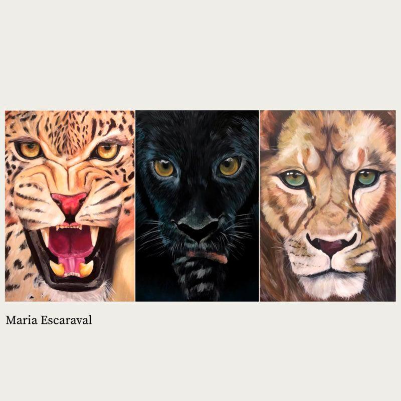 branding opt anuaria cuadro tres felinos