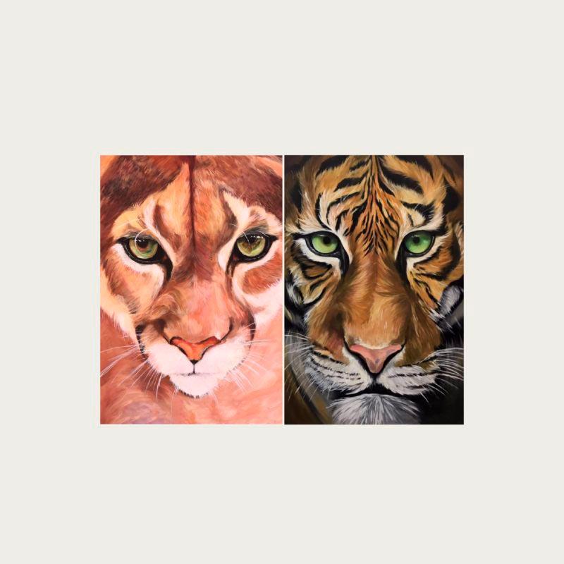 branding opt anuaria cuadro dos felinos