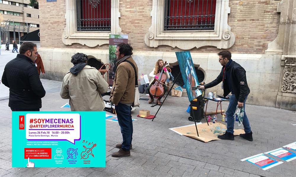 ARTEXPLORA Expresión de Arte en Murcia por Adrián Rodríguez