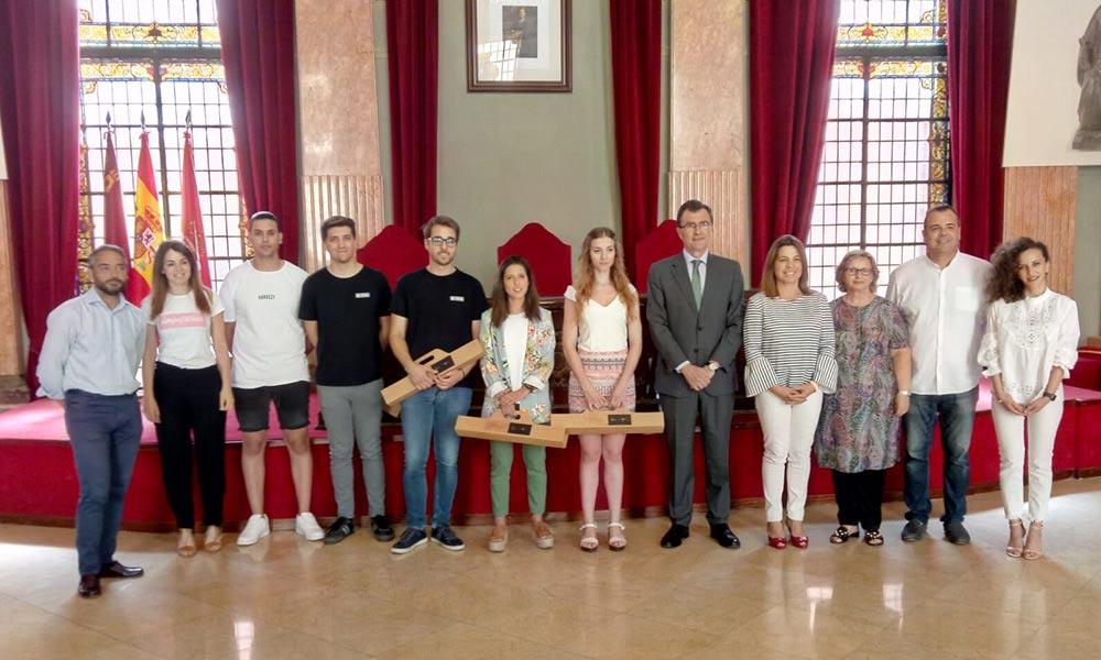 Recibimiento de drbrandfactory.es por el Alcalde de la Región de Murcia
